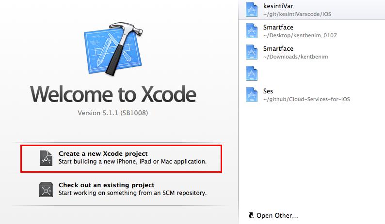 xcodenewproject